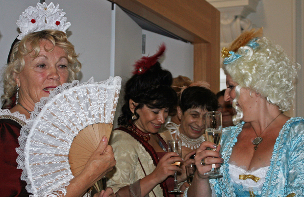 The Lords and Ladies Ball in Quebec City during the New France Festival (Photo by Melanie Votaw)